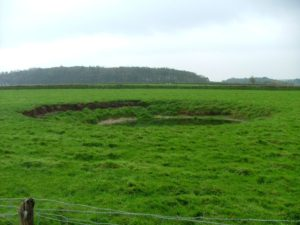 de oude berg op Texel